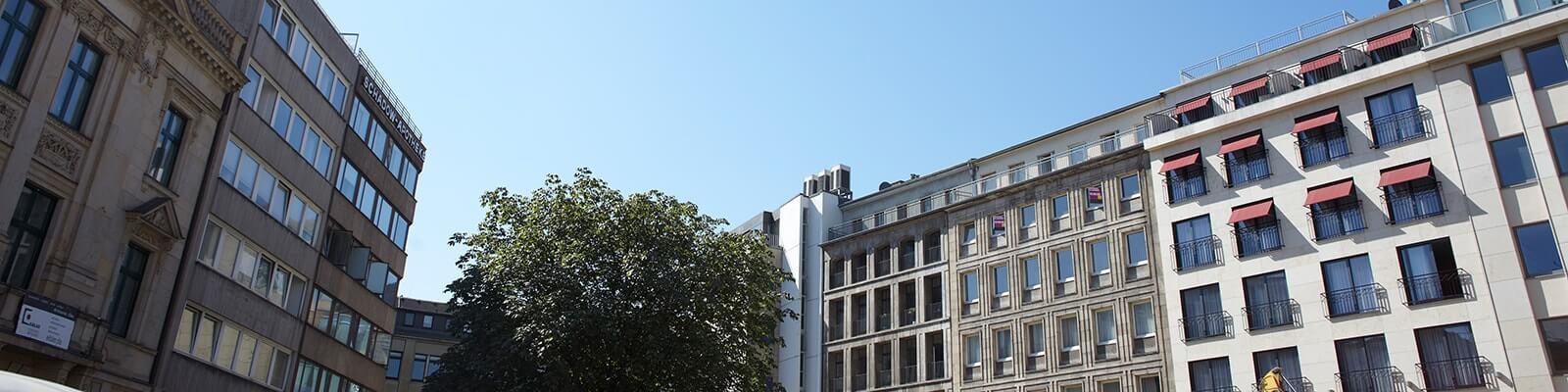 Bürogebäude der Rechtsanwälte in Düsseldorf