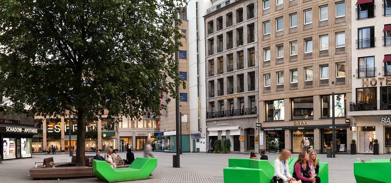 Anwaltskanzlei in der Innenstadt von Düsseldorf