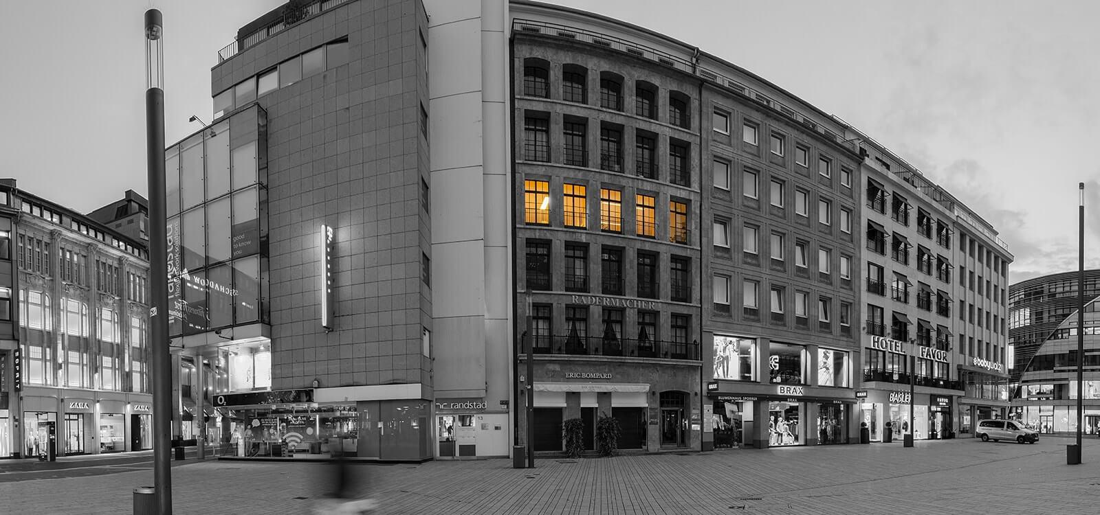 Bürogebäude Anwaltskanzlei Salmen Würzberg von Below