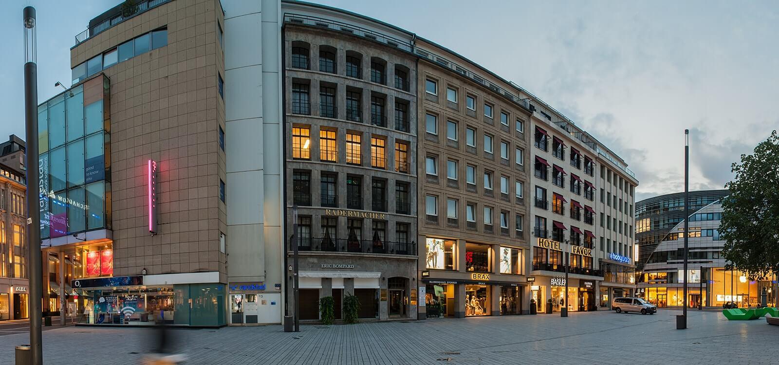 Bürogebäude von Salmen Würzberg von Below in Düsseldorf